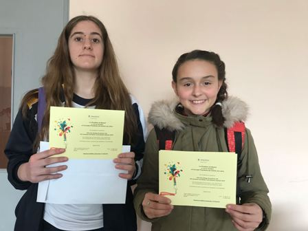 Somos finalistas también en el Beatriz Galindo