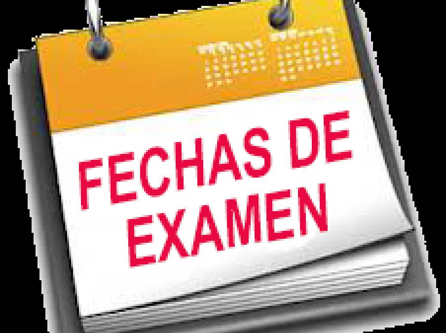 Fechas de exámenes de la convocatoria ordinaria de junio de Formación Profesional